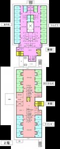 施設平面図2階